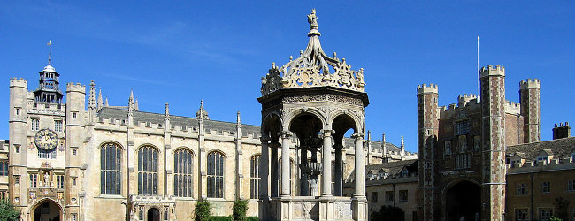 Trinity College Cambridge, Great Court, Andrew Dunn