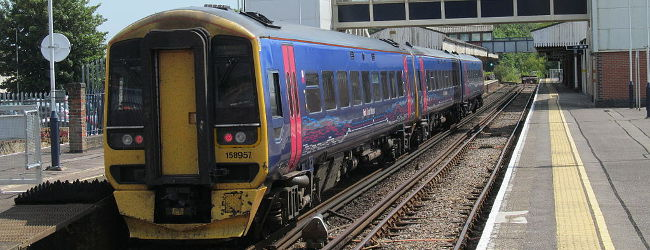 First Great Western, Fareham Station, July 2014, Chris0693