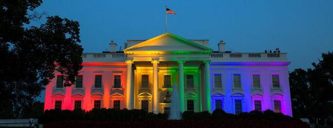 Rainbow White House, June 2015