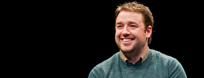 Jason Manford, Jan 2013, University of Salford Press Office