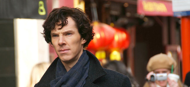 Benedict Cumberbatch playing Sherlock, March 2010 by Fat Les