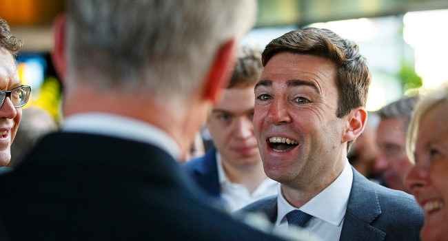 Andy Burnham, FT Summer Party 2015