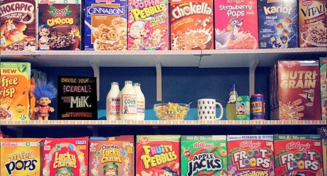 Cereal Killer Cafe via shop's official website