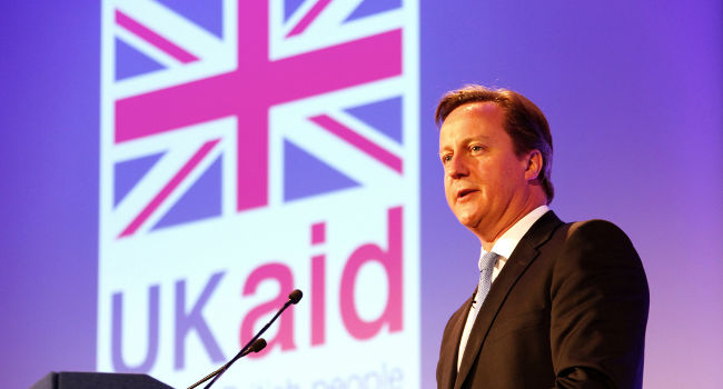 David Cameron, London Summit on Family Planning in July 2012, by DFID