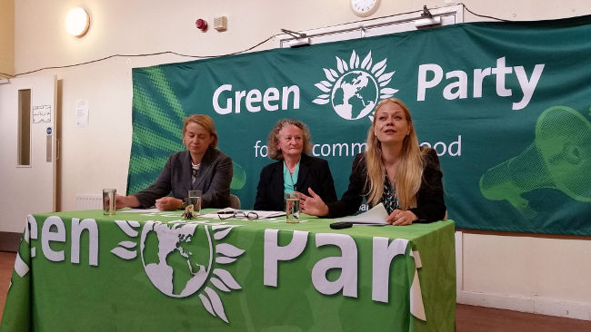 Green Party, London mayoral launch, September 2015 by RachelH_