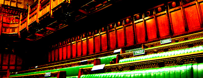 The Commons Chamber, November 2007 by Herry Lawford
