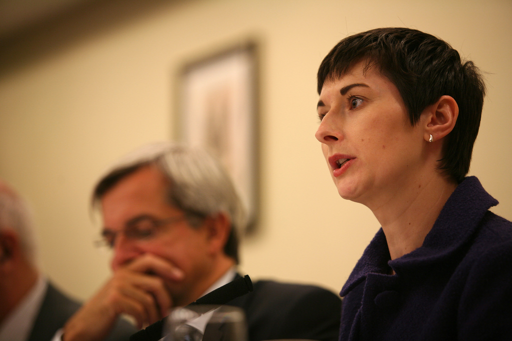 Caroline Pidgeon, party fringe meeting, September 2009 by Liberal Democrats