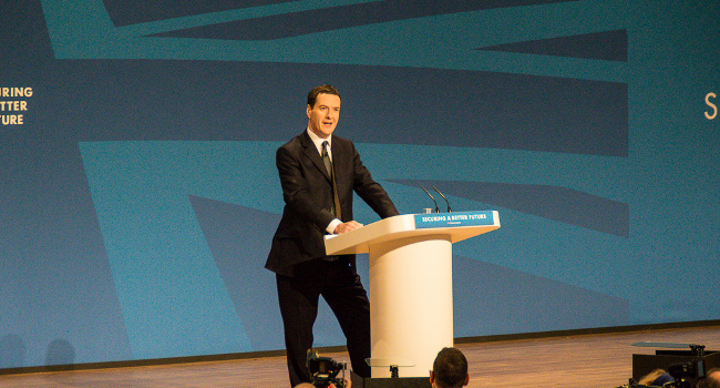 George Osborne, September 2014 by Gareth Milner