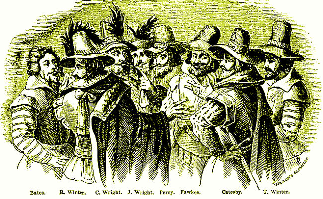 Gunpowder plot, public domain