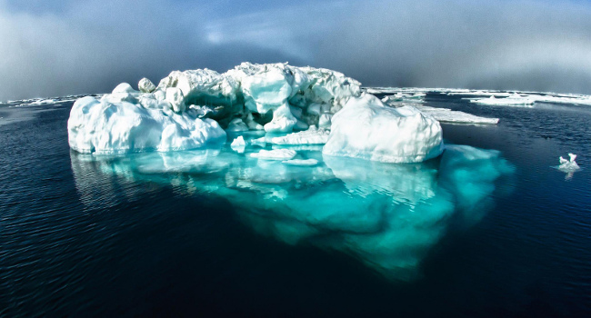 Iceberg, December 2012 by National Ocean Service