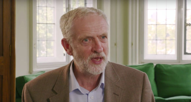 Jeremy Corbyn, Straight Talking, Honest Politics, October 2015 by Labour