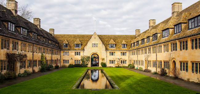Nuffield College, Oxford, February 2015 by Martijn van Sabben
