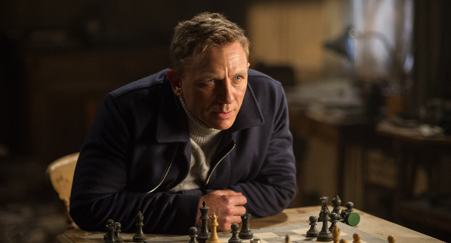 Daniel Craig in Spectre, October 2015 by TM Danjaq and MGM