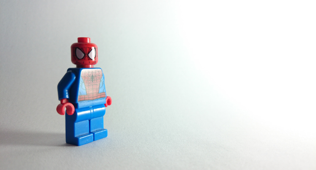 Spider-Man Lego, April 2014 by James Whatley