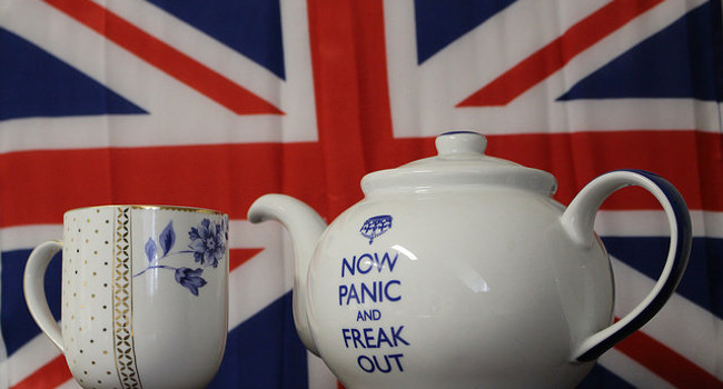 Brexit Tea by frankieleon