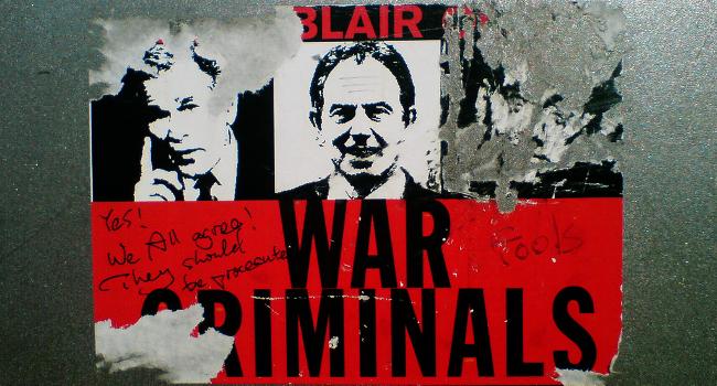 War Criminals, April 2007 by Fabio Venni