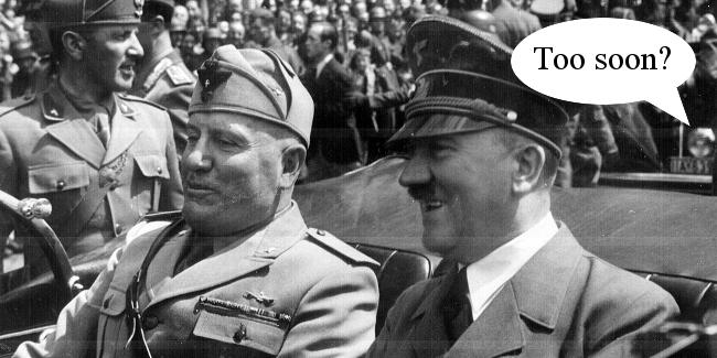 Lib Dem moots Mussolini statue