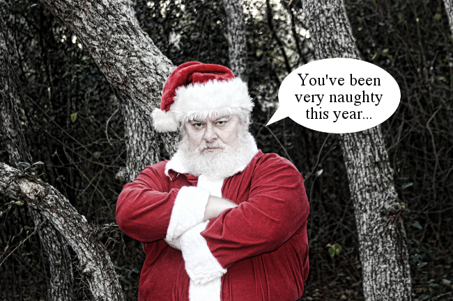 RD 122 Grumpy Santa